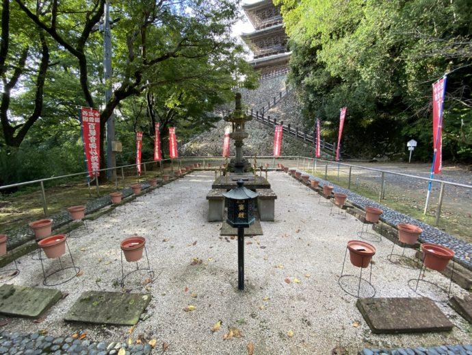 安来清水寺のお砂踏み