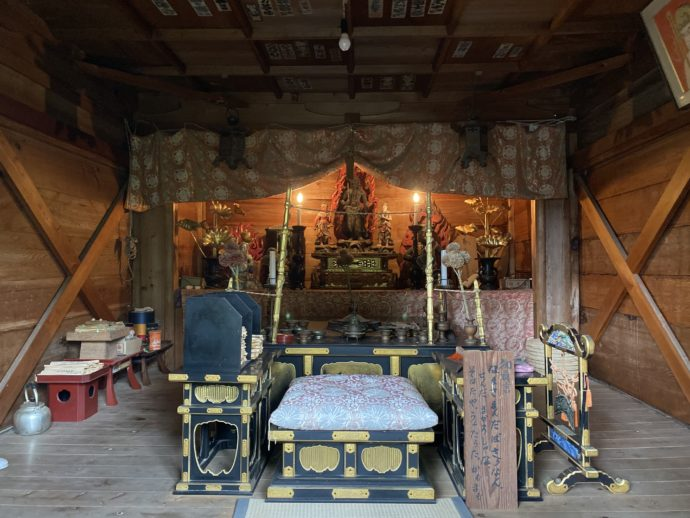 大山寺の下山観音堂