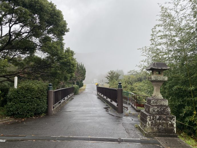 一畑薬師への橋