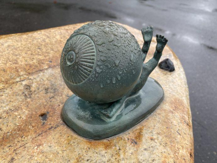 目玉のおやじの銅像