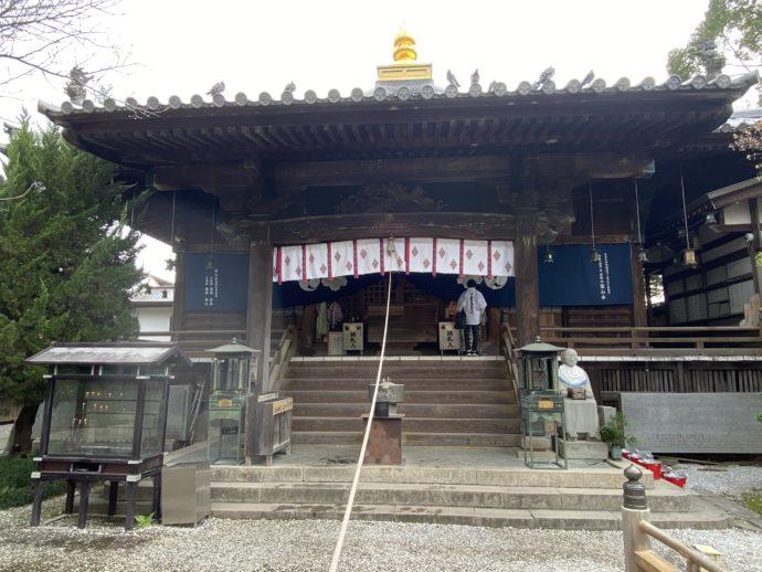 霊山寺の大師堂