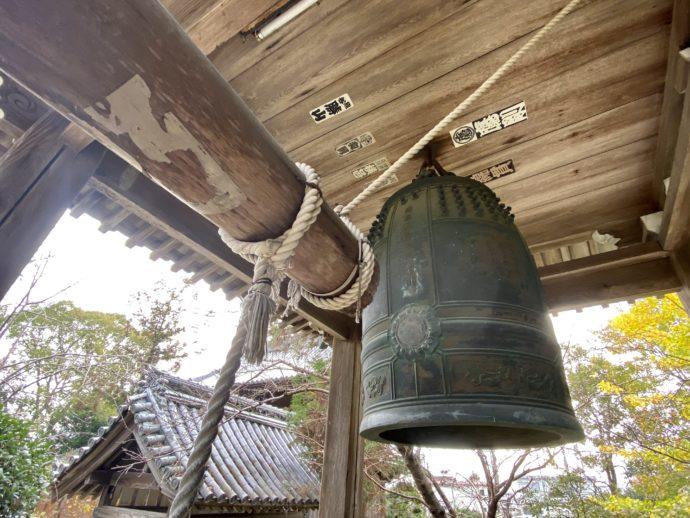 霊山寺の鐘楼