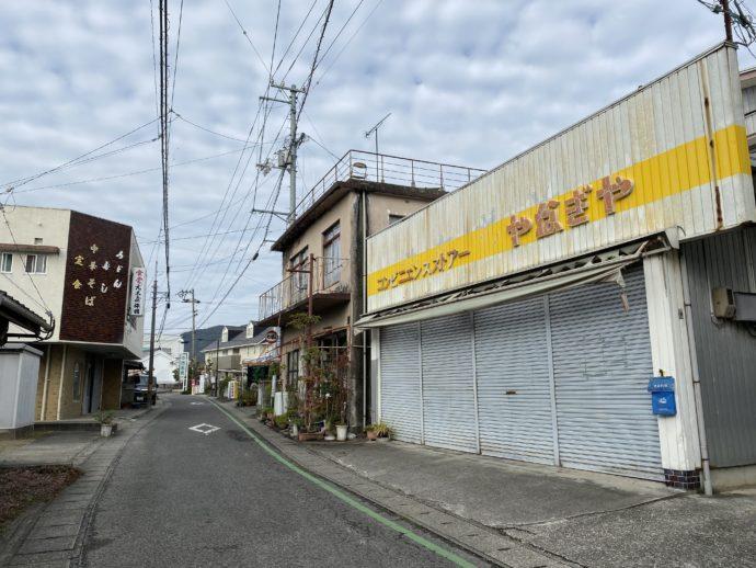 霊山寺までの道