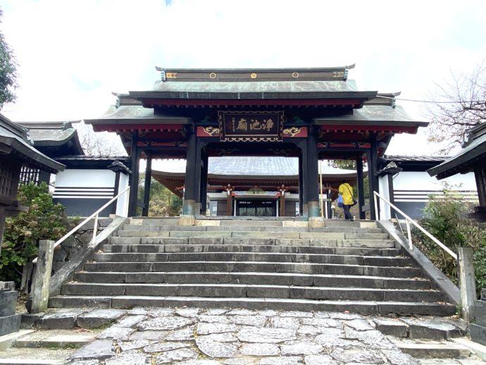 本妙寺の中門