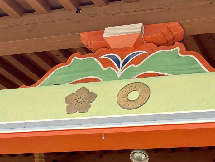「蛇の目」と「桔梗」の家紋
