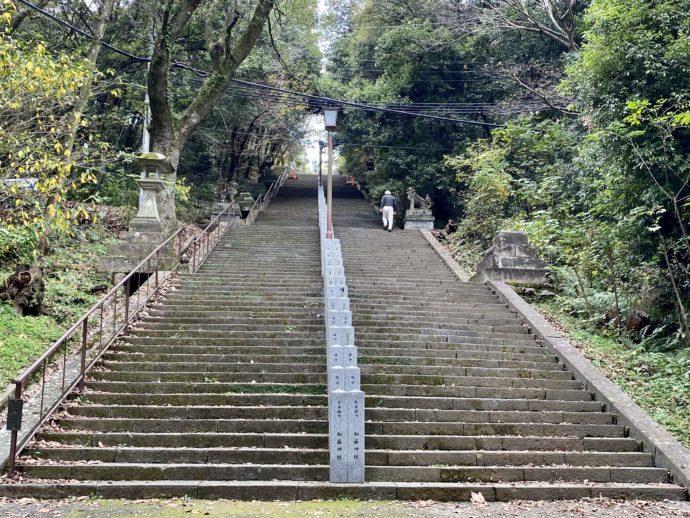 本妙寺の石段300段