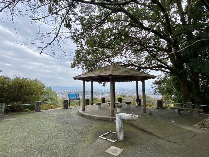 本妙寺の展望スポット