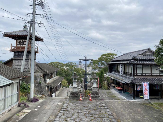本妙寺の石段