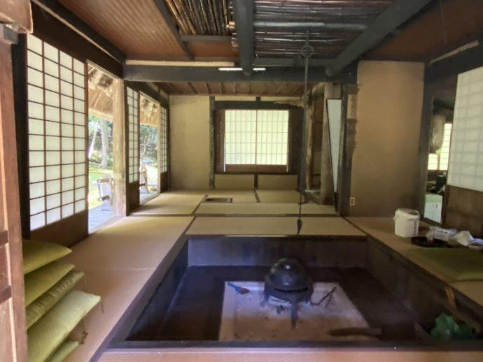 若狭神宮寺の茶室