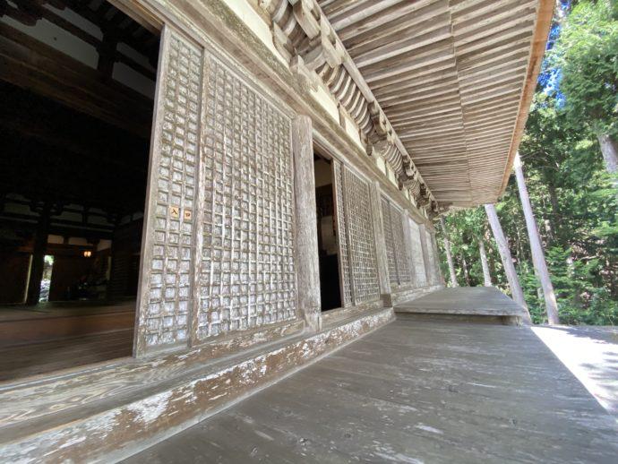明通寺の本堂