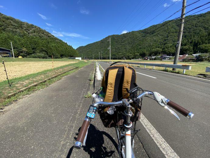 明通寺から神宮寺への道