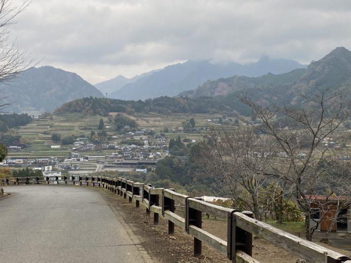 高千穂町の道