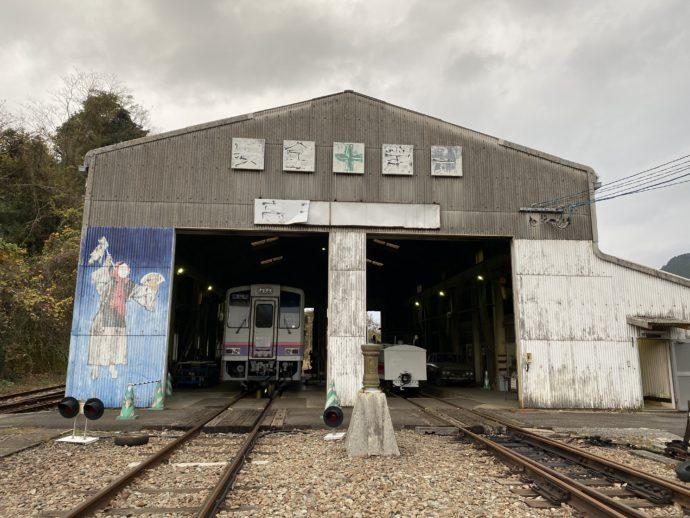 高千穂鉄道の見学