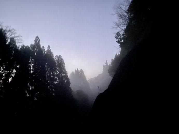 夜明けの国見ヶ丘