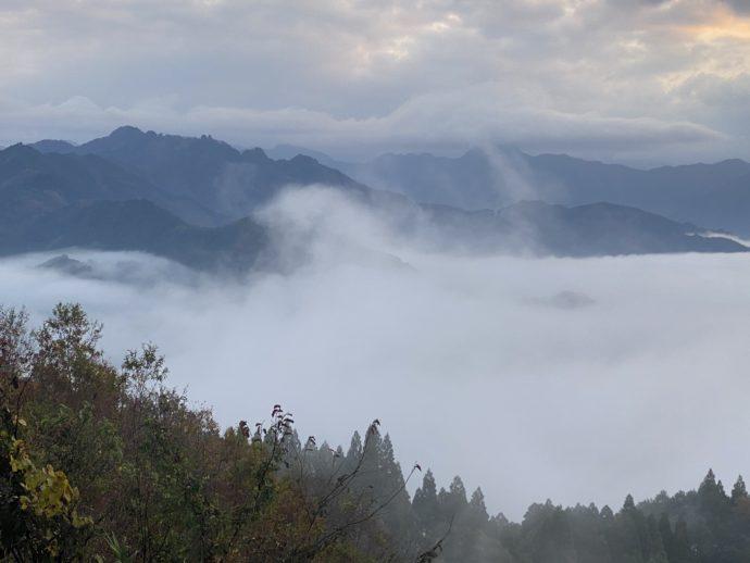 晴れゆく雲海