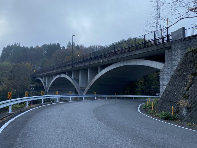 高千穂の道路
