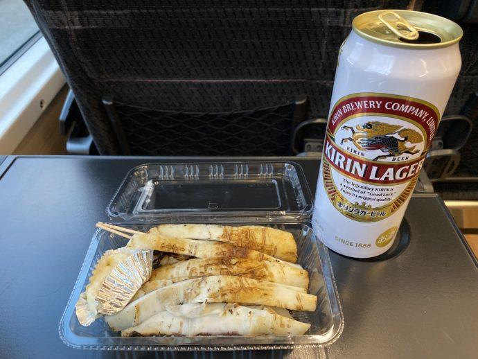 焼きイカとビール
