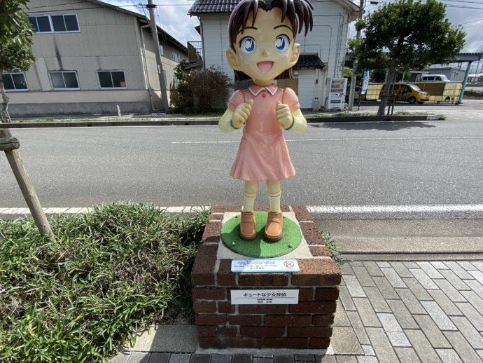 あゆみちゃんの像