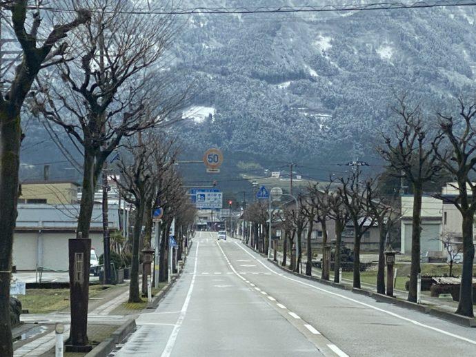 瑞泉寺への道