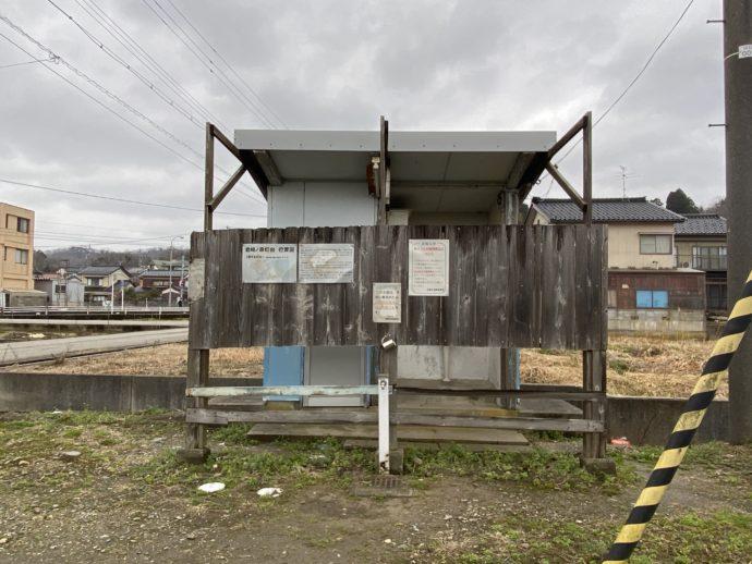 JR越中中川駅のトイレ