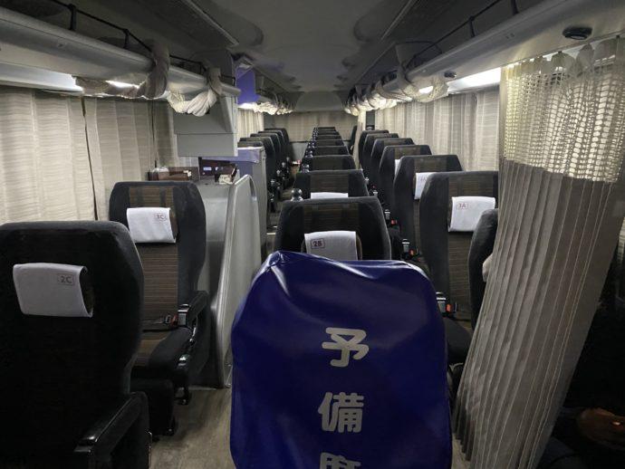 阪急バスの車内