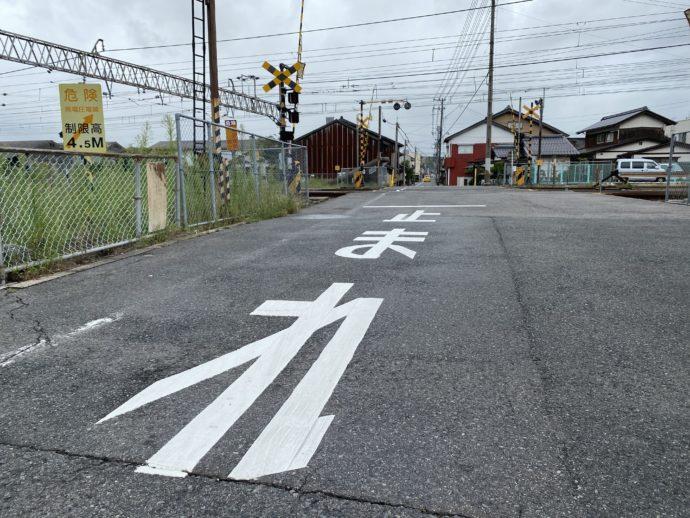 米子駅付近の道