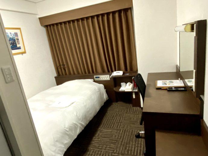 米子のホテルの部屋