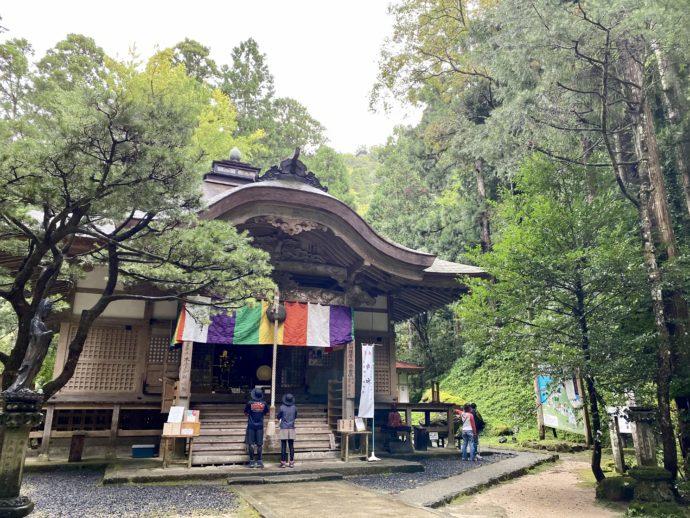 三佛寺の本堂