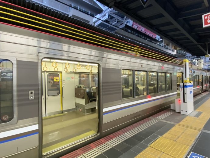 JR大阪駅ホーム