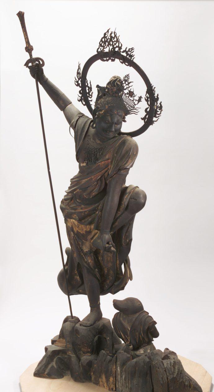 瑞龍寺の烏枢沙摩明王