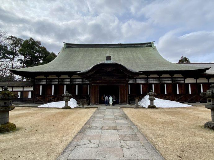 瑞龍寺の法堂