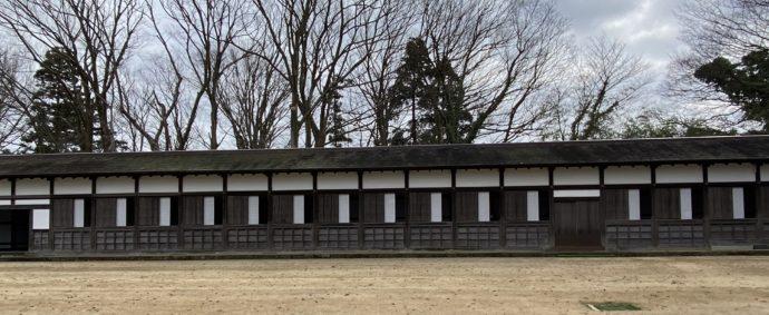 瑞龍寺の回廊