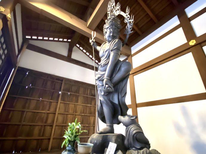烏枢沙摩明王像(複製)