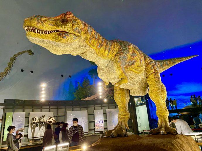 福井県立恐竜博物館の恐竜