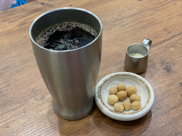 ゆとりコーヒーと豆