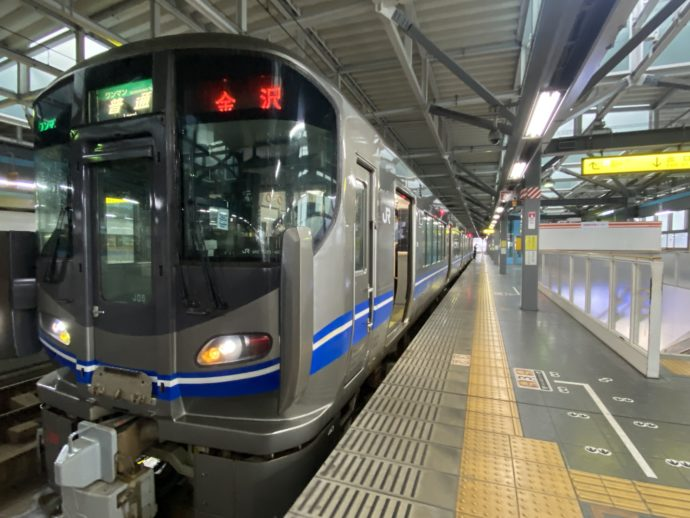 JR福井駅ホーム