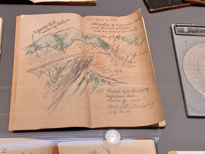 恐竜発掘者のノート