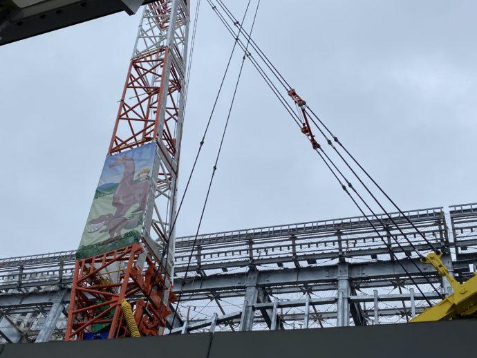 建設工事中の福井駅
