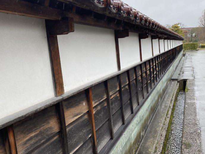 全昌寺の塀