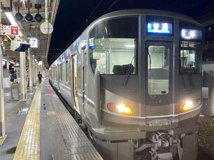 敦賀駅ホーム