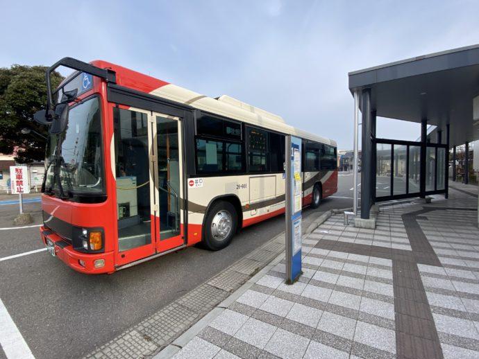 羽咋駅発のバス