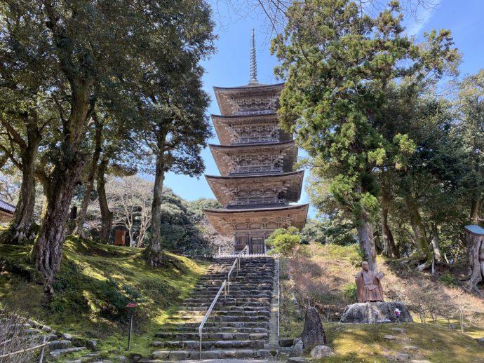 妙成寺の五重塔
