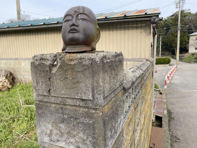 仏様の頭部