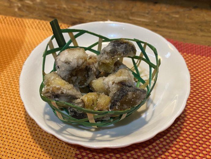 サザエの天ぷら