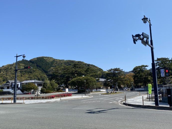 松陰神社前の交差点