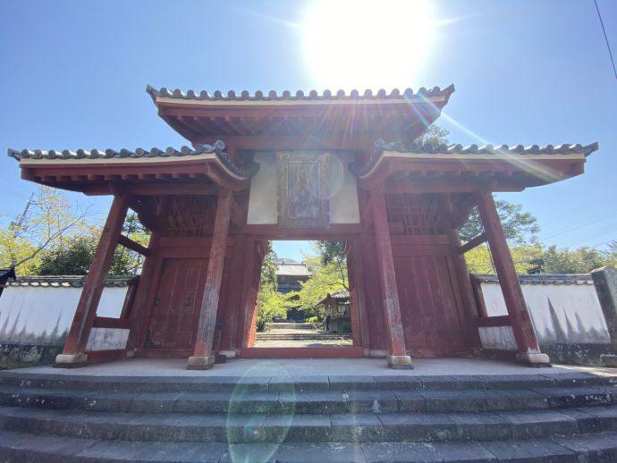 東光寺の総門