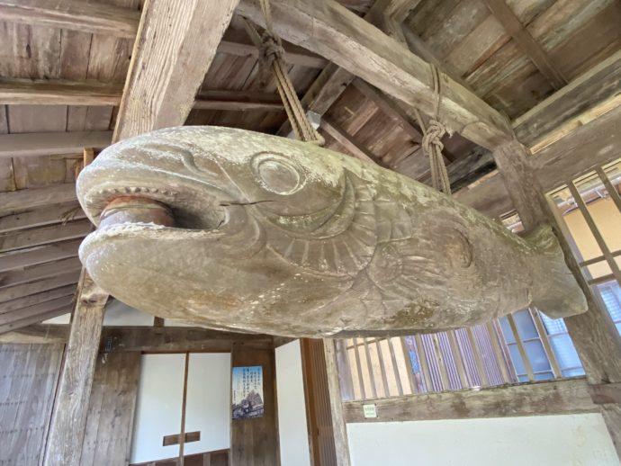 東光寺の木魚