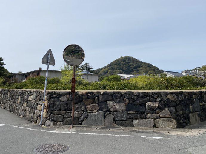 萩城下町の石垣