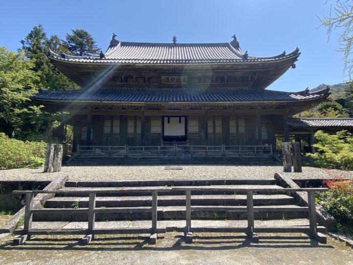 東光寺の大雄宝殿