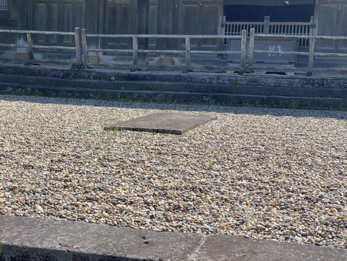 東光寺の月台